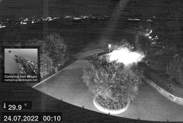 Webcam Manerba, Camping San Biagio