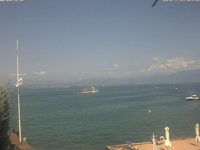 Webcam Peschiera, Fraglia Vela